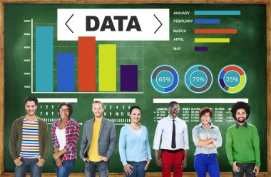 Data Analytics Chart Performance Pattern Statistics Information