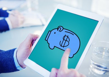 Piggy Bank on tablet PC