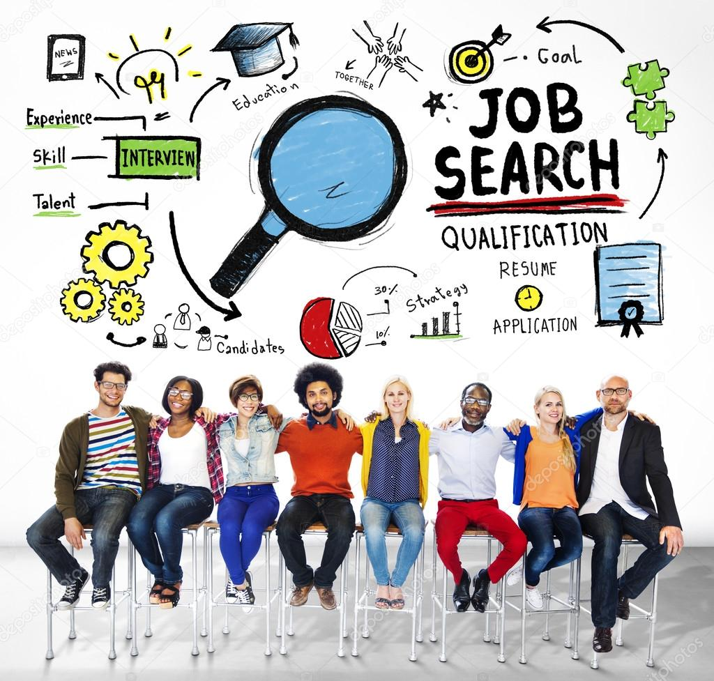 Togetherness Job Search Concept
