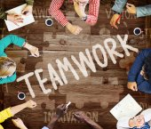 Fotografie Teamwork Team Collaboration Concept