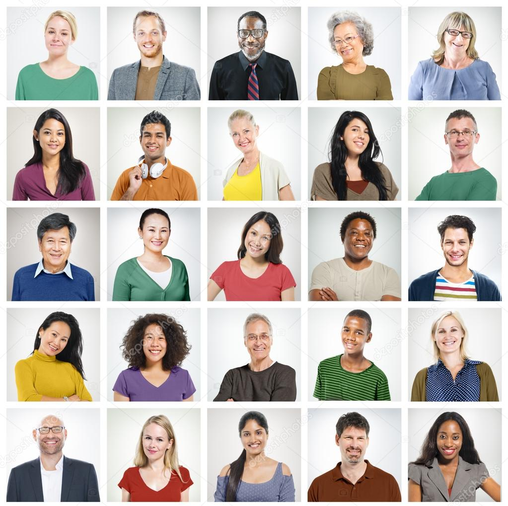 Diversity Group of People Concept