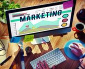 Fotografie marketingové plánování strategie obchodní organizace koncepce