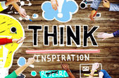 Photo Think Inspiration Knowledge Concept