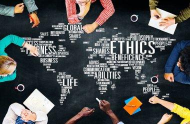 Ethics Ideals Principles Morals Concept
