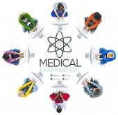 Lékařské vyšetření vyšetření diagnózy koncepce