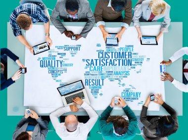 Customer Satisfaction Reliability Concept