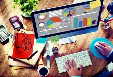 Bar Graph Chart Data Information Concept