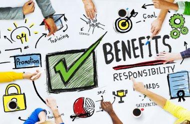 Benefits Gain Profit Concept