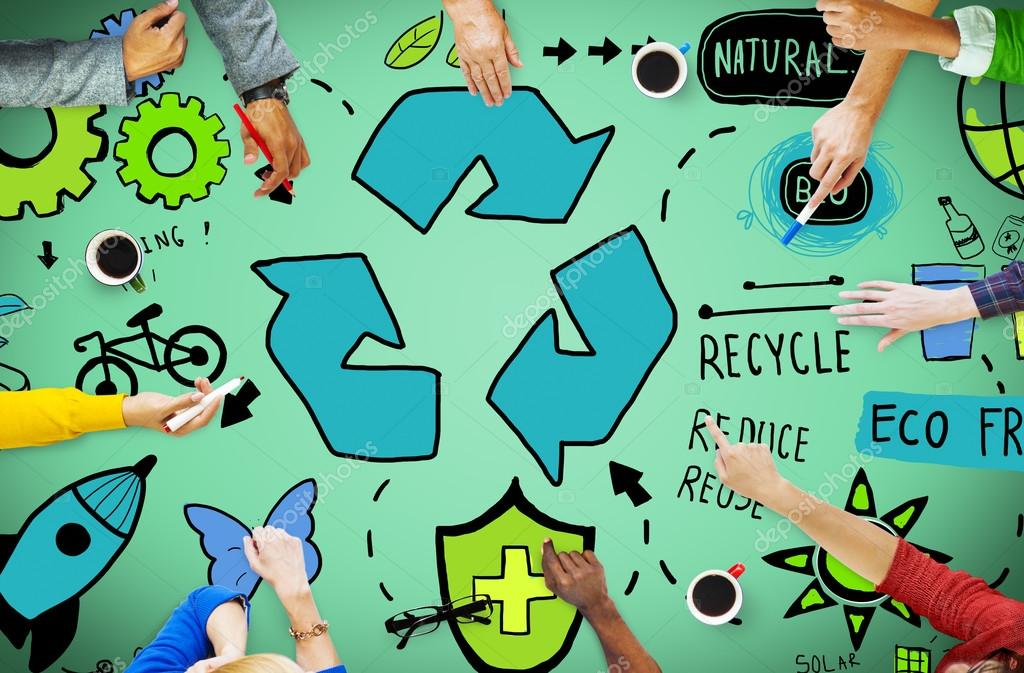 Recycle Reduce Reuse Eco Concept