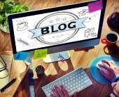 Fotografie Blog Online webové stránky Design koncept
