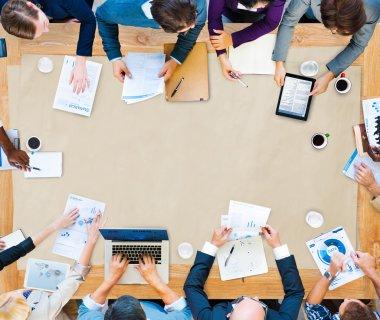 Diversity Business Team Strategy Concept