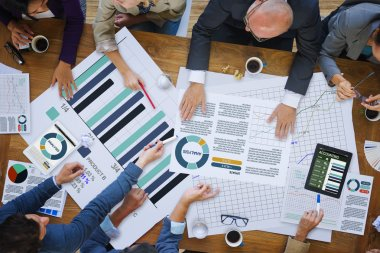 Business People Corporate Analysis Concept