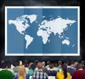 Fényképek Világ globális üzleti térképészet