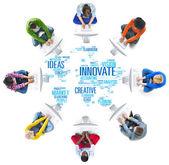 Inovace inspiraci tvůrčí myšlenky
