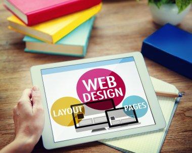 Web Design Content Concept