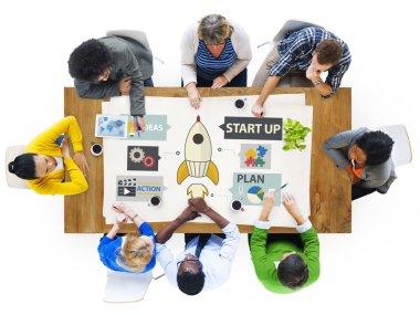 Startup Innovation Planning Ideas  Concept