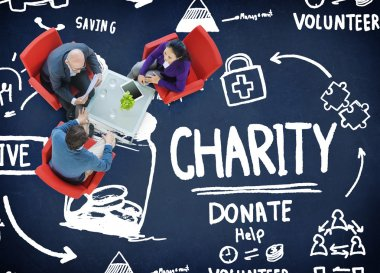 Charity Donate Concept