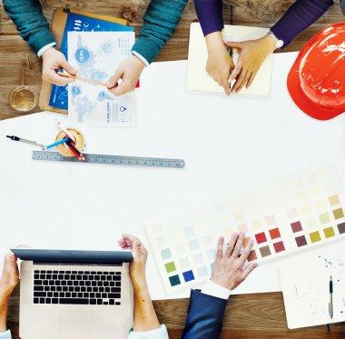 Team Meeting Brainstorming Concept