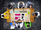 Website Design Ideas Concept