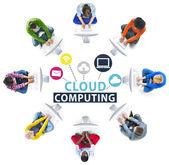 Cloud computing ukládání konceptu