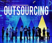 Fotografie Outsourcing Career Recruitment Concept
