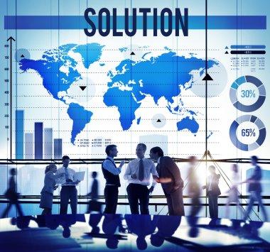 Problem Solving Decision Concept