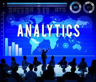 Analytics Analysis Strategy Concept