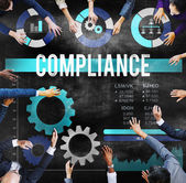 Compliance Collaboration Growth Concept