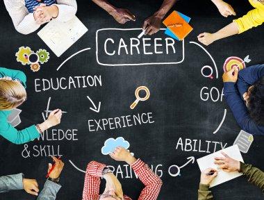 Career Goal Expertise Concept