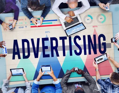Advertising Promotion Publication Concept