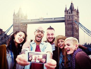 Summer Friends taking Selfie