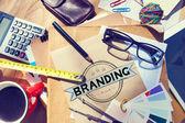 irodai íróasztal Branding fogalma