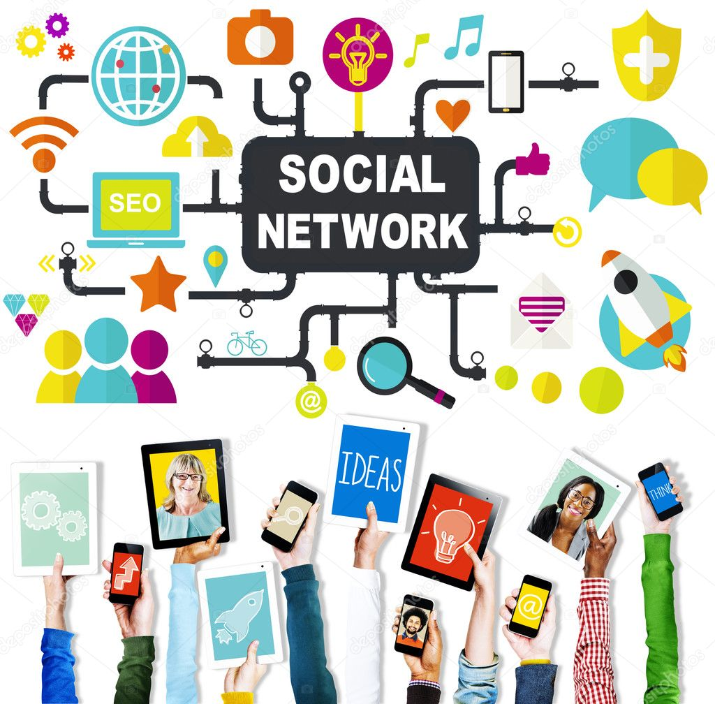 jobba hemifrån - sociala nätverk