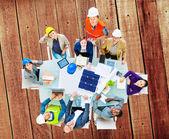 Architekti a inženýři na setkání