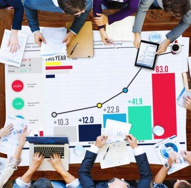 Statistics Data Analysis Concept