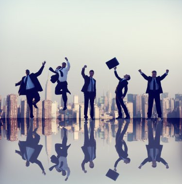 Business People and Teamwork Concept