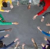 Fotografie Skupina podnikatelů na setkání koncept
