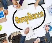 Fotografie Compliance Affirmation Regulation Concept