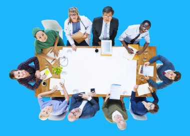 Group of Doctors on Meeting Concept