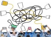 Fotografie Communication Telecommunication Connection Concept