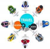 Cestovní dobrodružství cílové umístění
