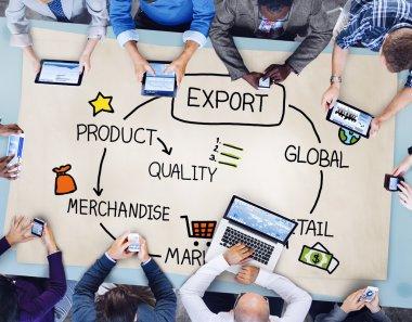Export Product Merchandise Concept