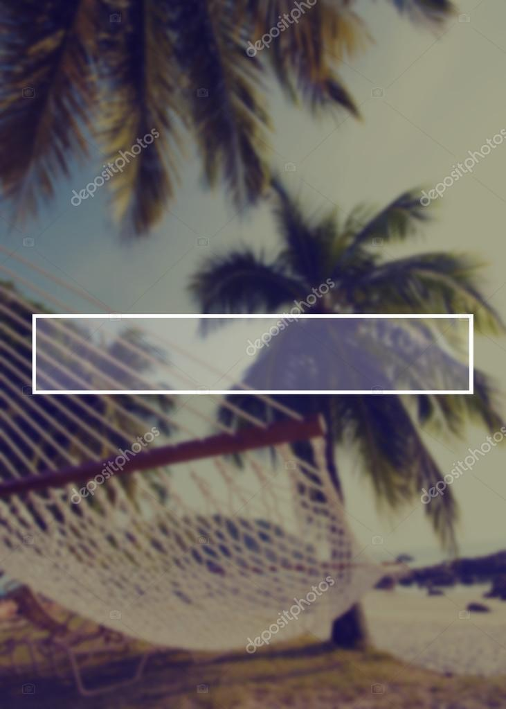 Summer Vacation background with Frame