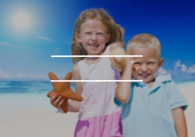 kids on Vacation Holiday Concept