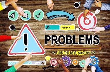 Problems Challenge Concept
