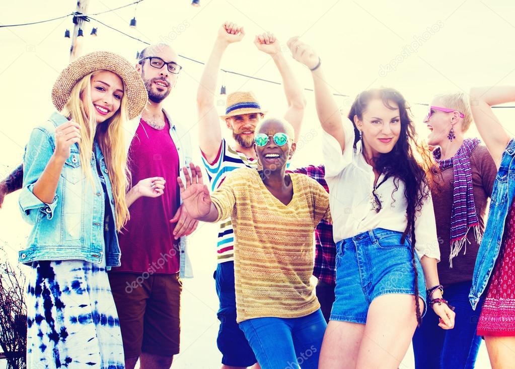 Teenager in der Partei