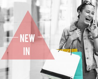 Woman Lifestyle Shopping