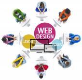 koncepce designu webu