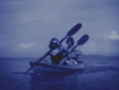 Kayaking Adventure Happiness Concept
