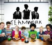 Team Teamwork Concept